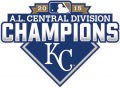 Kansas City Royals 2015 Champion Logo decal sticker