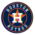 Phantom Houston Astros logo decal sticker
