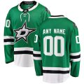 Dallas Stars Custom Letter and Number Kits for Green home Jersey