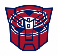 Autobots Montreal Canadiens logo decal sticker