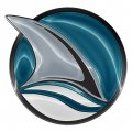 san jose sharks crystal logo iron on stickers