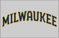 Milwaukee Brewers 2020-Pres Jersey Logo 01 decal sticker