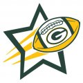 Green Bay Packers Football Goal Star iron on transfer