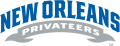 New Orleans Privateers 2013-Pres Wordmark Logo 01 decal sticker