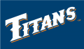 Cal State Fullerton Titans 1992-2009 Wordmark Logo 02 decal sticker