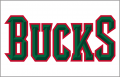 Milwaukee Bucks 2007-2015 Jersey Logo decal sticker