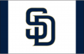 San Diego Padres 2014-2019 Batting Practice Logo decal sticker