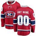 Montreal Canadiens Custom Letter and Number Kits for Red Home Jersey