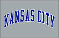 Kansas City Royals 1995-2001 Jersey Logo decal sticker