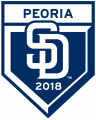 San Diego Padres 2018 Event Logo decal sticker