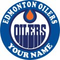 Edmonton Oilers iron on transfer