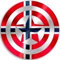 CAPTAIN AMERICA norwayc decal sticker