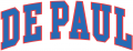 DePaul Blue Demons 1998 Wordmark Logo decal sticker