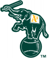 Oakland Athletics 1995-Pres Alternate Logo iron on transfer