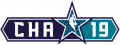 NBA All-Star Game 2018-2019 Wordmark decal sticker