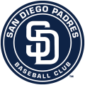 San Diego Padres 2012-2014 Primary Logo decal sticker