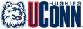 UConn Huskies 1996-2012 Wordmark Logo 01 decal sticker