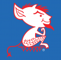 DePaul Blue Demons 1979-1998 Alternate Logo decal sticker