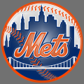 new york mets 1999-pres primary plastic effect logo iron on transfer