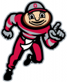 Ohio State Buckeyes 2003-Pres Mascot Logo 01 iron on transfer