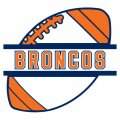 Football Denver Broncos Logo iron on transfer