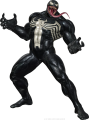 Marvel Venom character iron on sticker