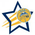 Denver Nuggets Basketball Goal Star decal sticker