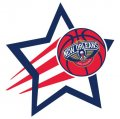 New Orleans Pelicans Basketball Goal Star decal sticker