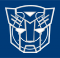 Autobots Indianapolis Colts logo decal sticker