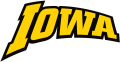 Iowa Hawkeyes 2002-Pres Wordmark Logo 03 iron on transfer