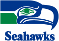 Seattle Seahawks 1976-2001 Wordmark Logo iron on transfer