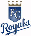 kansas city royals 2002-pres primary plastic effect logo iron on transfer