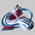 Colorado Avalanche Stainless steel logo decal sticker