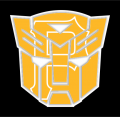 Autobots Pittsburgh Pirates logo iron on transfers