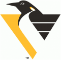 Pittsburgh Penguins 1992 93-1998 99 Primary Logo decal sticker