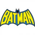 Batman DIY iron on stickers (heat transfer) version 3