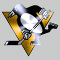 Pittsburgh Penguins Stainless steel logo decal sticker
