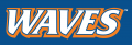 Pepperdine Waves 2004-Pres Wordmark Logo decal sticker