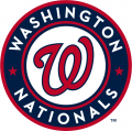 Washington Nationals 2011-Pres Primary Logo decal sticker