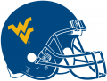 West Virginia Mountaineers 1980-Pres Helmet decal sticker
