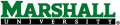 Marshall Thundering Herd 2001-Pres Wordmark Logo 02 iron on transfer