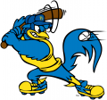 Delaware Blue Hens 1999-Pres Mascot Logo 05 decal sticker