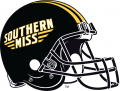 Southern Miss Golden Eagles 2003-Pres Helmet decal sticker