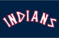 Cleveland Indians 1975-1977 Jersey Logo iron on transfer