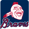 Atlanta Braves 1987-1989 Alternate Logo iron on transfer