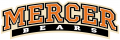 Mercer Bears 2007-Pres Wordmark Logo decal sticker