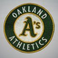 Oakland Athletics Logo Embroidered Iron On Patches