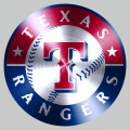 Texas Rangers Stainless steel logo decal sticker