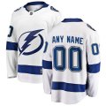 Tampa Bay Lightning Custom Letter and Number Kits for White Jersey