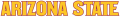 Arizona State Sun Devils 2011-Pres Wordmark Logo 19 decal sticker